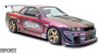 Signal Auto R34 Front View