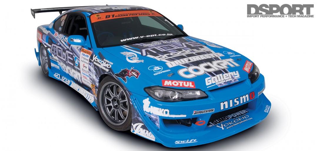 Kazama S15 D1 drift car