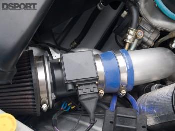 Intake filter for the Kazama S15 D1 drift car
