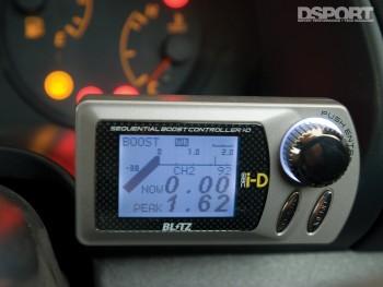 Boost Controller inside the Kazama S15 D1 drift car