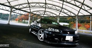 The Top Secret R34 GT-R