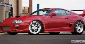 """Big Red"" Toyota Supra"