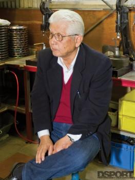 OS Giken Founder Okazaki