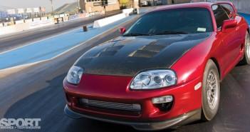 850 HP E85 Turbocharged Toyota Supra