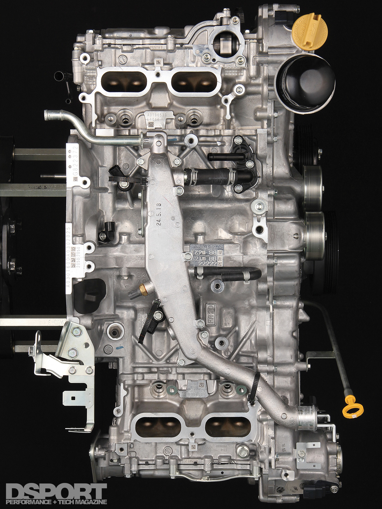 Tomei Powered Dissects The Fa20 Flat Four Subaru 2 Engine Timing Diagram This Made Possible For Top View Of