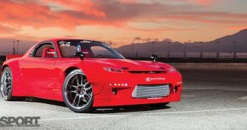 Widebody Mazda RX7