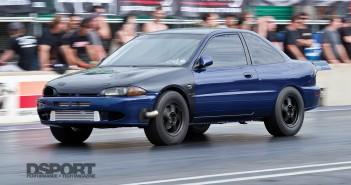 Mitsubishi Mirage Drag Racing