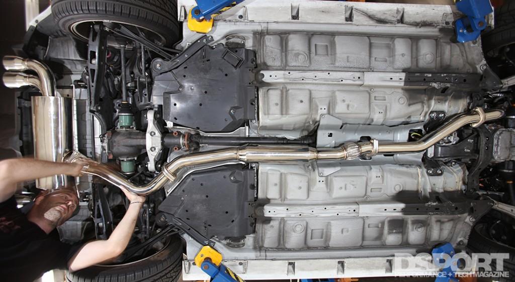 Exhaust/E85 Testing for Subaru STi
