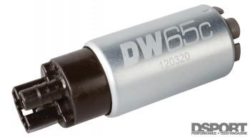 DW65c Fuel Pump for E85 flex fuel testing