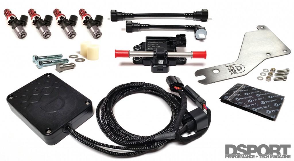 Delicous Tuning Kit for Subaru STi E85 Testing