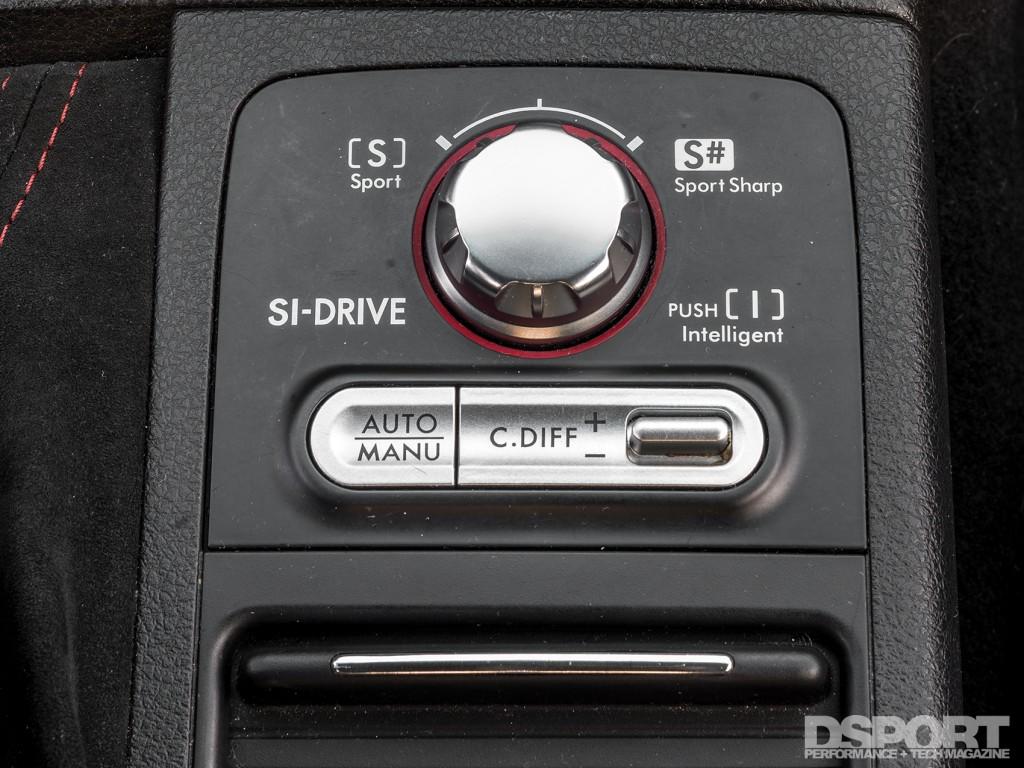 Using the STI factory controls for the E85 flex fuel controls