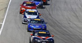 Mazdas at Mazda Raceway Laguna Seca