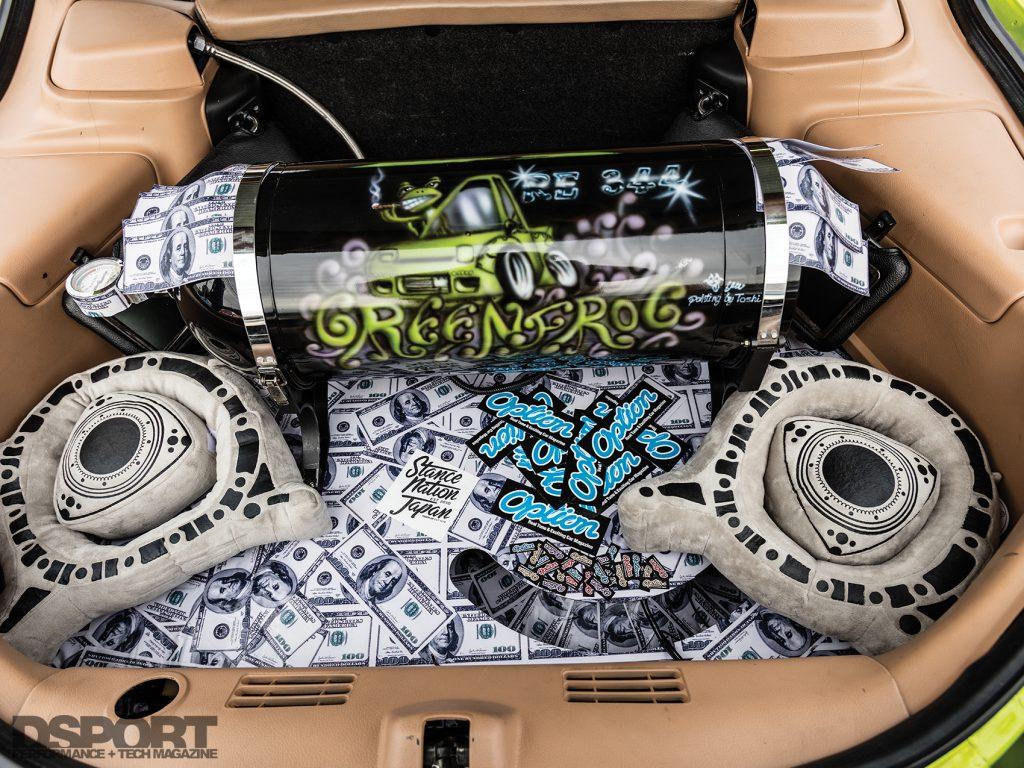 RE Miyoshi Mazda RX7 Trunk