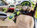 Interior of RE Miyoshi Mazda RX7