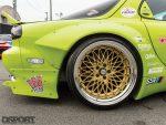 SSR Wheels on the RE Miyoshi Mazda RX7