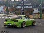RE Miyoshi Mazda RX7 on the streets
