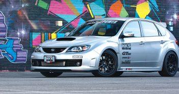 HKS equipped Subaru STI