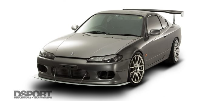 SR20DET equipped Nissan S15