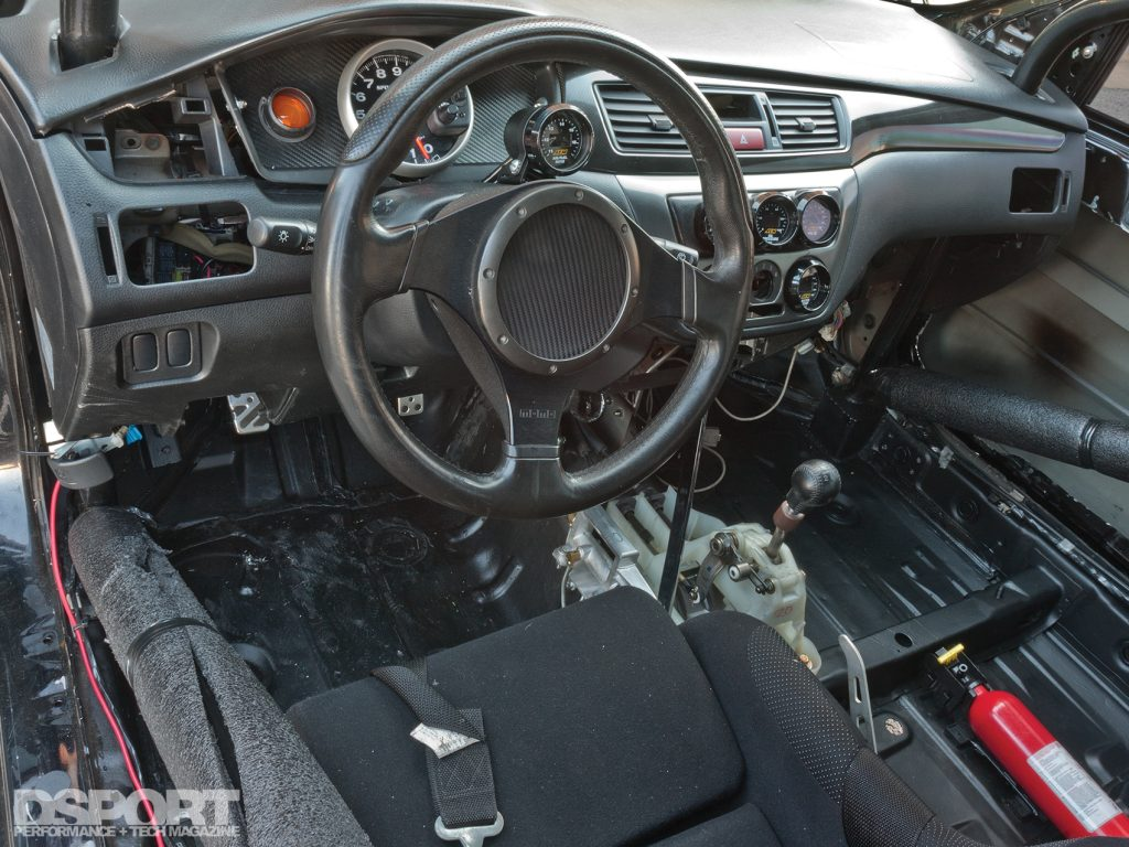886 Whp Eight Second Evo Ix Aiming For The Record 8 Wiring Diagram Interior Of Viii