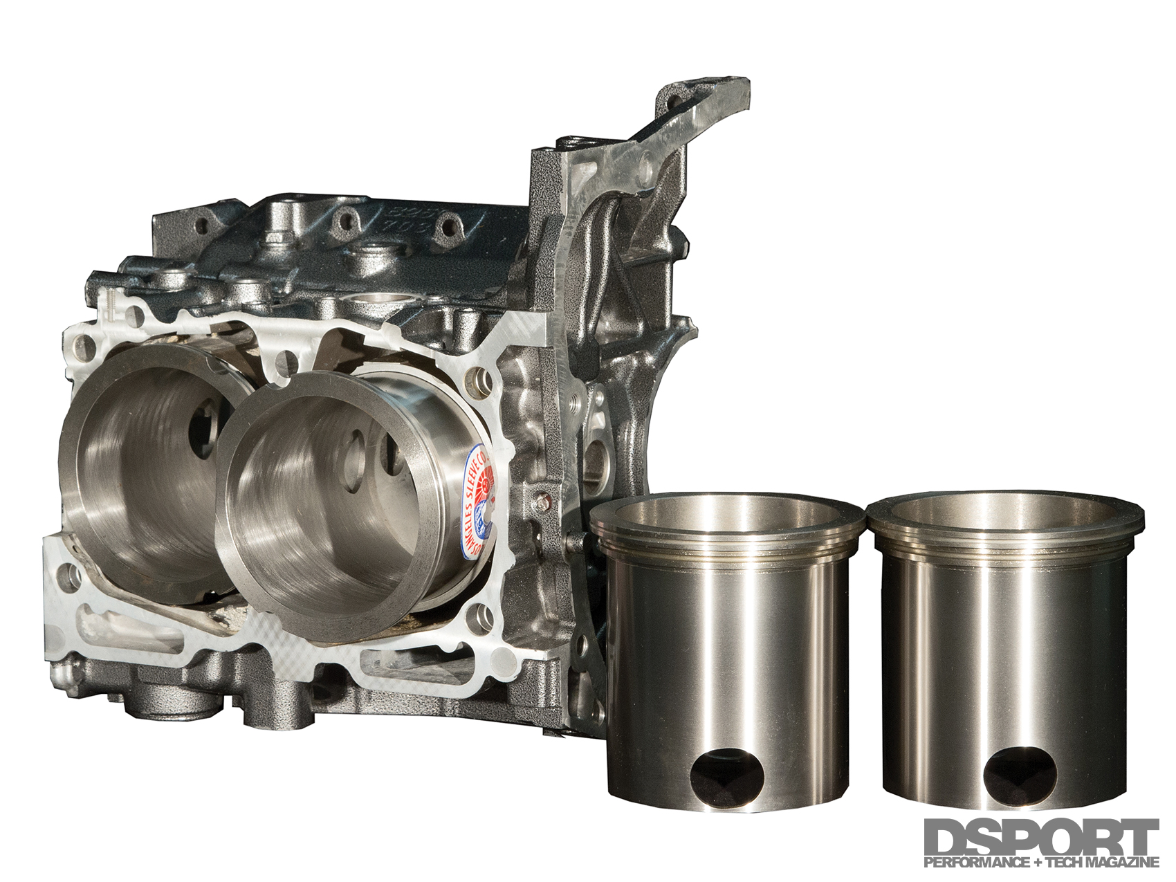 Subaru Ej257 Bottom End Breakdown Dsport Engine Diagram Cylinder Sleeves Offer A High Strength Repair Solution For Damaged Or Worn Blocks They Can Be Used To Simply Fortify The Further