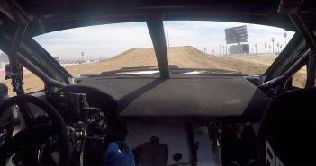 Riding in a Rallycross Subaru