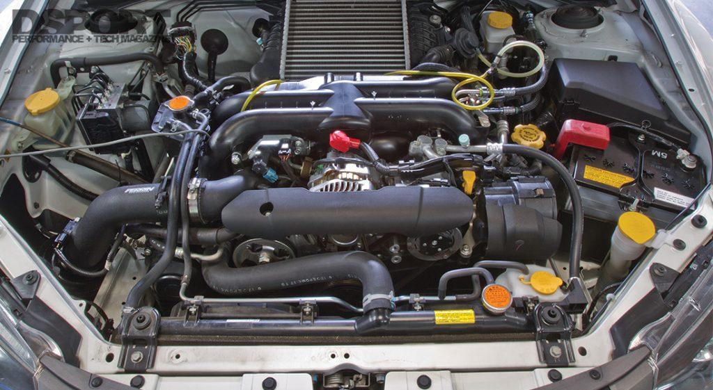 Test & Tune 2011 WRX Engine Bay