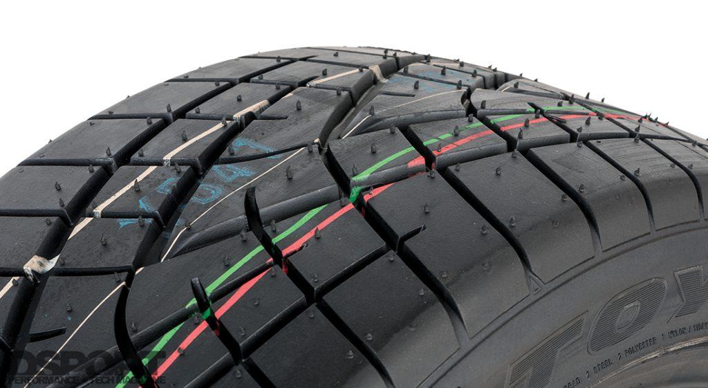 Toyo R1R tires for Project MX-5 Miata