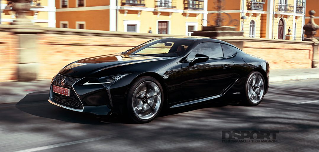 All New 2018 Lexus Lc500 First Drive Dsport Magazine