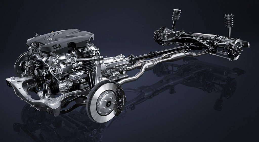 LC500 Chassis