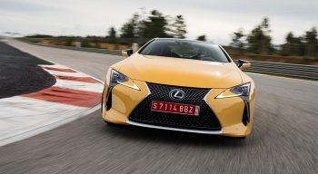 LC500 front end