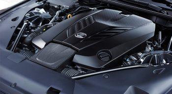 LC500 engine