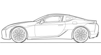 LC500 outline