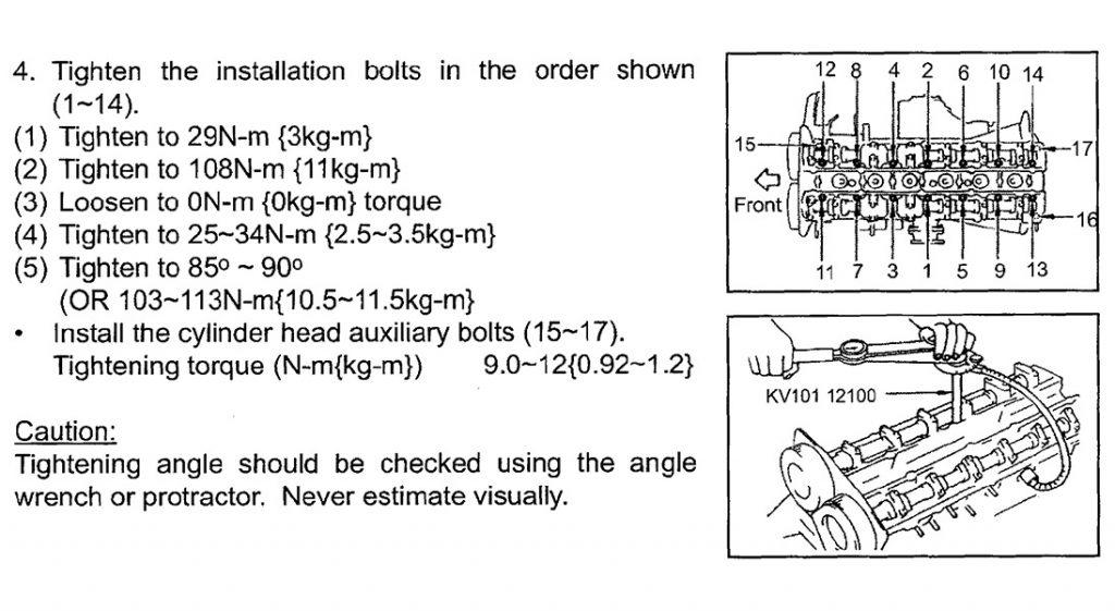 Nissan Service Manual