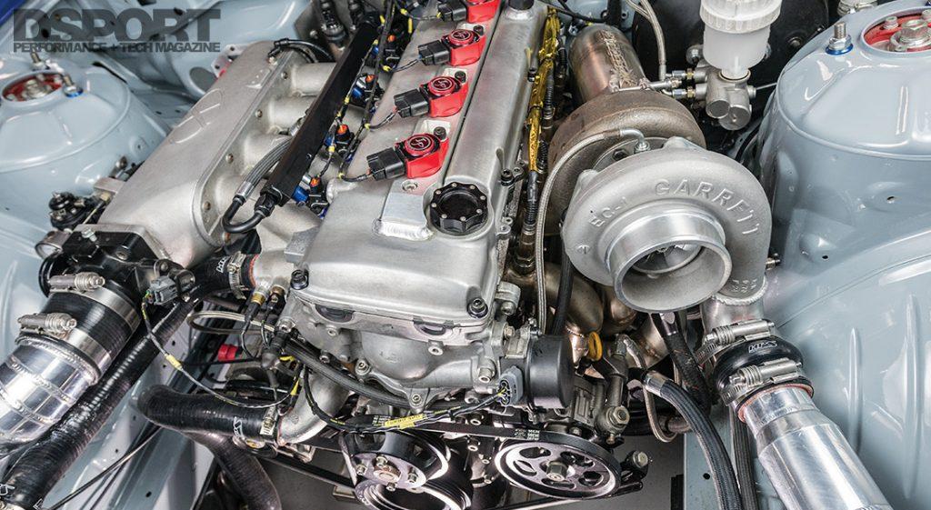 D'Garage S14 Engine Bay