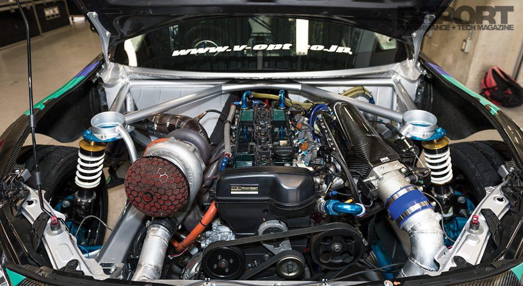 HKS GT86 Engine Bay