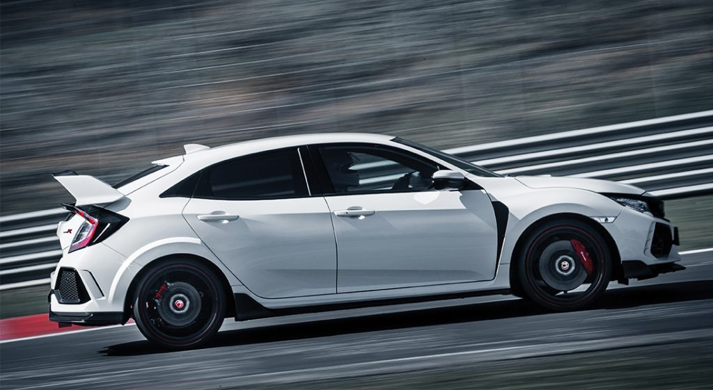 Civic Type R Rolling