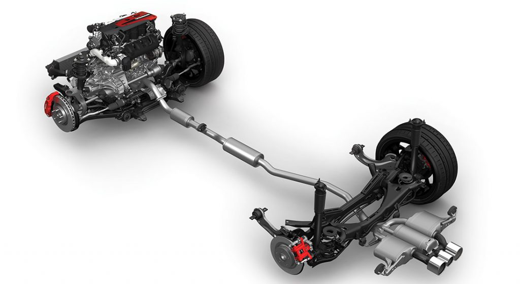 Civic Type R Drivetrain