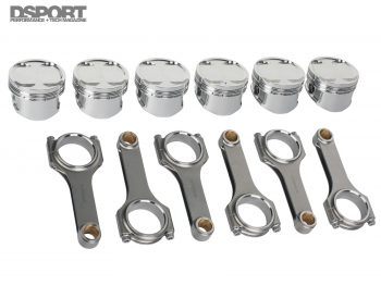 2JZ Build Pistons and Rods