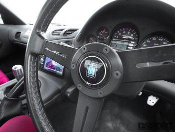 FEEDS RX7 Steering Wheel