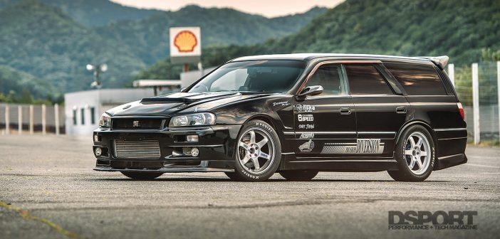 Nissan Stagea Lead