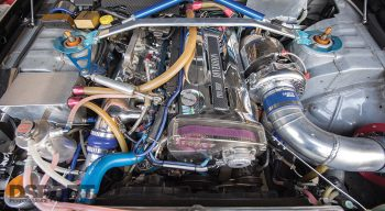 Nissan Stagea Engine Bay