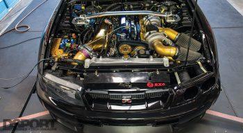 Engine Break In R33 Engine Bay