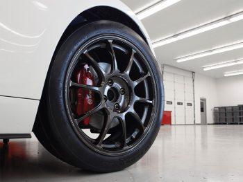 Mazda MX-5 Cup Car Volk Wheels