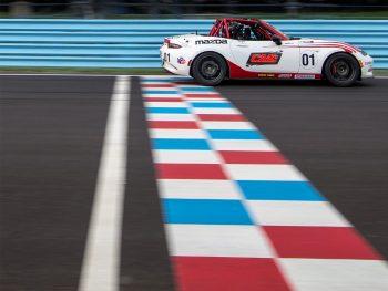Mazda MX-5 Cup Car Side
