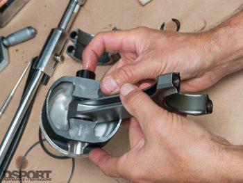 4B11 Blueprinting Piston and Rod