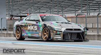 R35 HKS GT1000 HKS GTR
