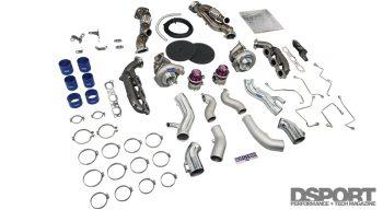 R35 HKS GT1000 Turbo Kit