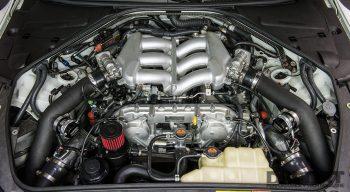 R35 HKS GT1000 Engine Bay