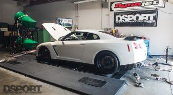 R35 HKS GT1000 GTR Dyno