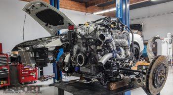 R35 HKS GT1000 Engine